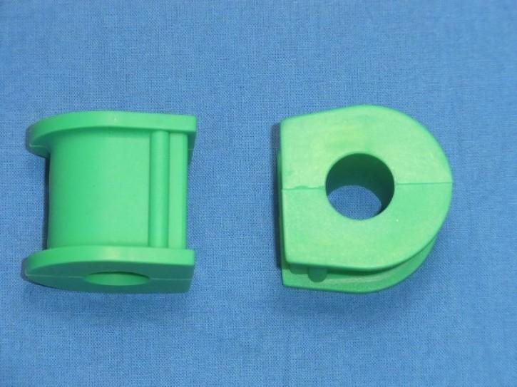 Silicon Buchsensatz grün
