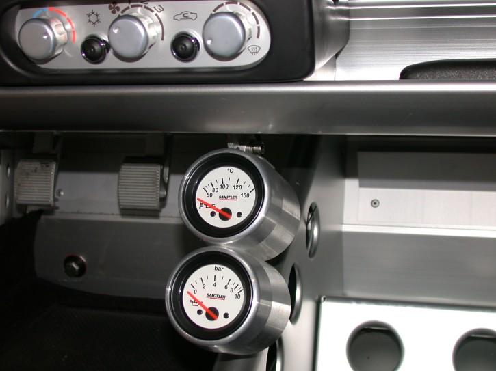 CNC Alugehäuse für 52mm Zusatzinstrumente