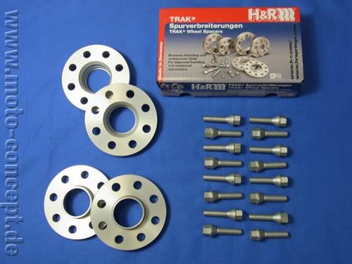 Spurverbreiterungssatz 28mm (VA & HA) inkl. Schrauben