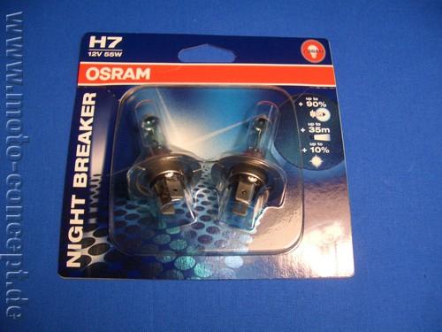 Osram Nightbreaker H4 - Abblendlicht (2 Stück)