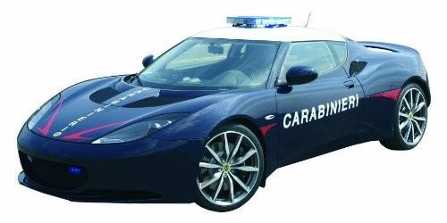 Modellauto Evora 1:24 Carabinieri-Edition