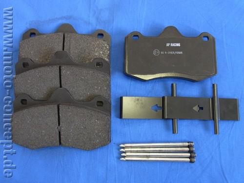Ferodo DS 2500 Bremsbeläge Vorderachse