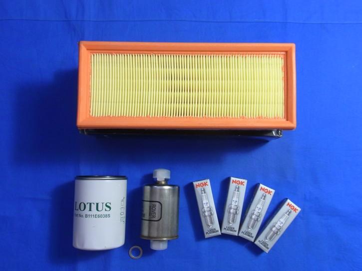 Service Kit Ölfilter, Luftfilte, Benzinfilter und Zündkerzen