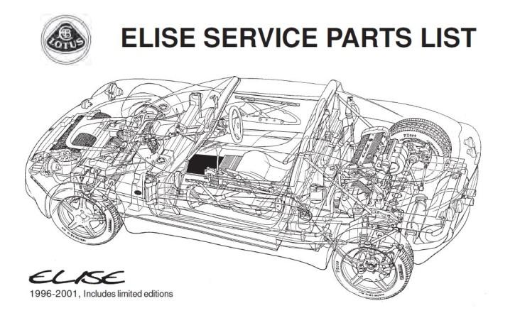 Service Parts List Elise MK1