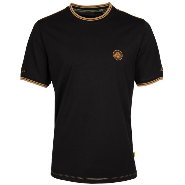 Lotus Männer T-Shirt schwarz/gold