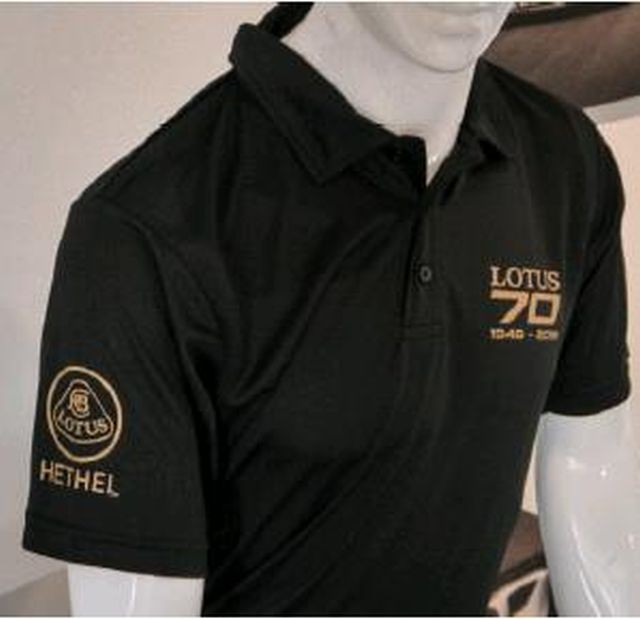 Polo-Shirt 70 Jahre schwarz 3XL