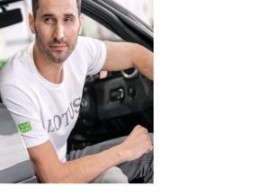 Lotus T-Shirt weiß